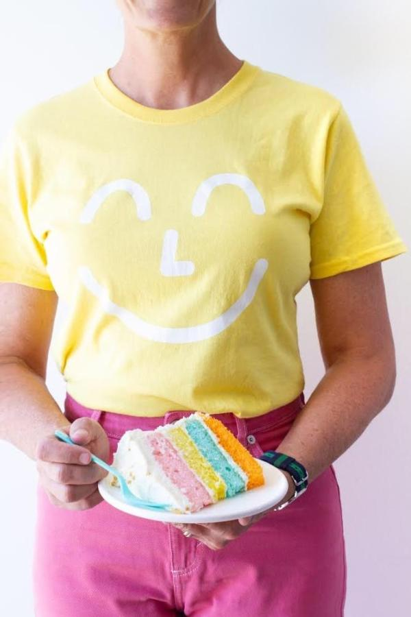 Yum Yum Smiley Face Tee