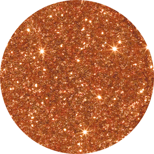 Glitter - Golden Orange