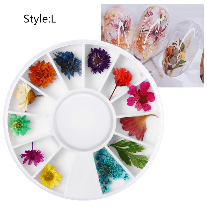 Dried Flower Wheel