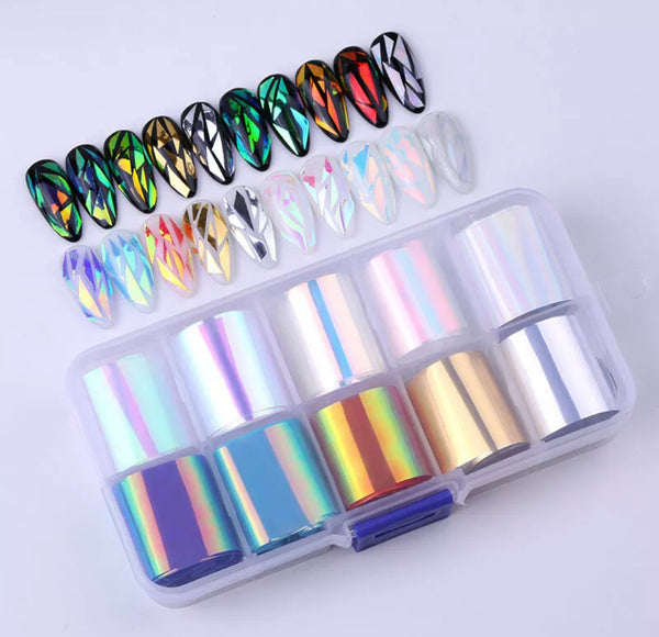 Nail Glass Effect Box