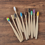 Eco Brush™ - Bamboo Toothbrush Set (10pcs/set)