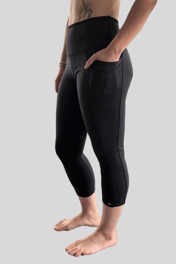 Pocket Capri Black