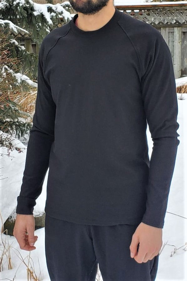Men's Bamboo Terry Long Sleeve