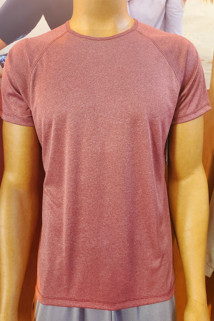 Men's Eco-technical Tee Heather Wine