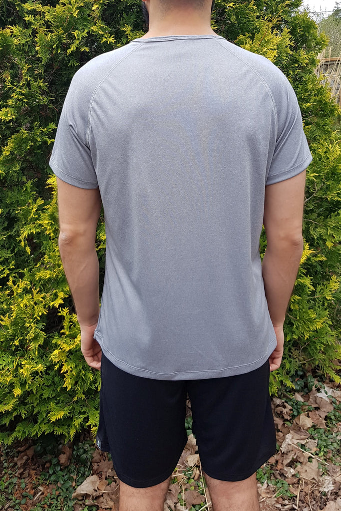 Men's Eco-technical Tee Grey