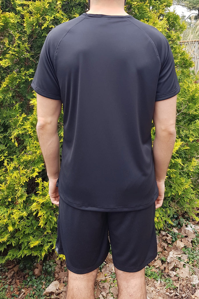 Men's Eco-technical Tee Black