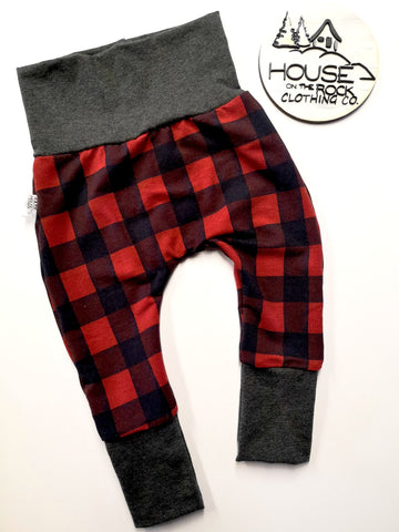 Grow Pants- Plaid