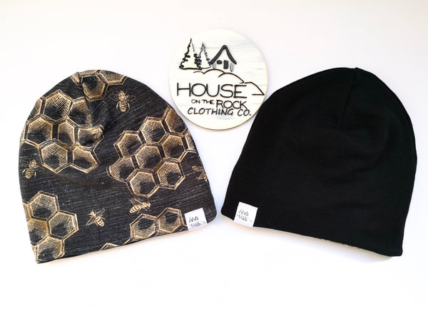 Reversible Hat- Bees and Black