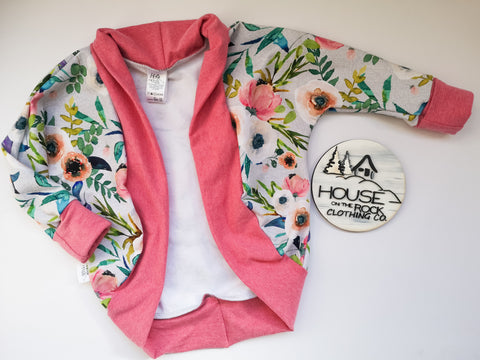 Grow Cardigan- Fable Floral