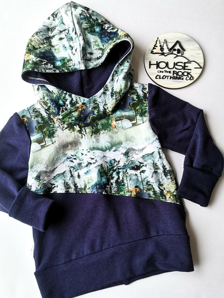 Grow Sweater- Wilderness Hoodie and Purple