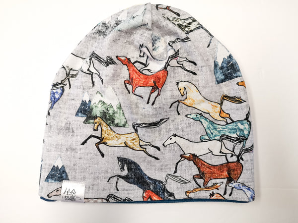 Reversible Hat- Wild Horses and Petrol