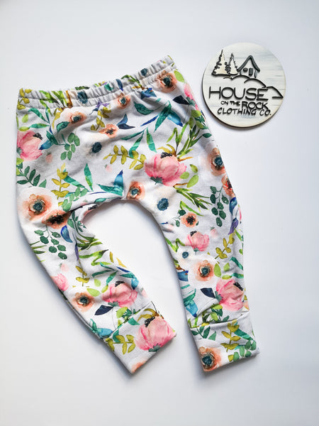Grow pants- Floral Fable