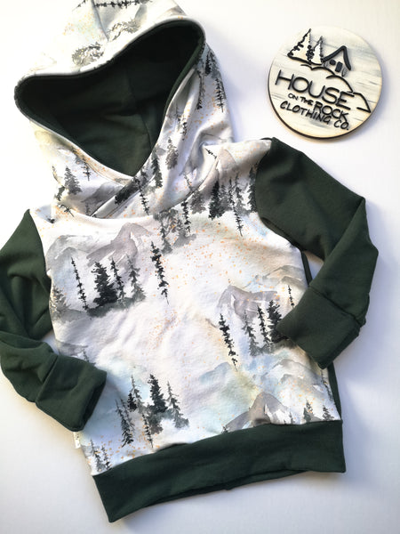 Grow sweater- Pine Forest Hoodie