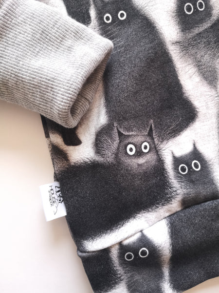 Grow sweater- Cozy Cats Hoodie