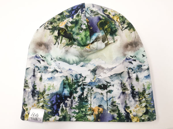 Reversible Hat- Wilderness and Purple