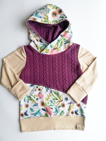 Grow sweater- Fable Floral Hoodie