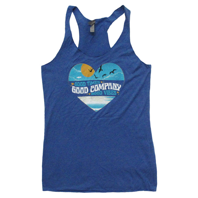 Ladies Good Times Good Company Tank