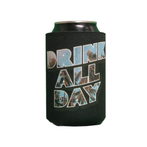 Drink All Day Black Can Cooler