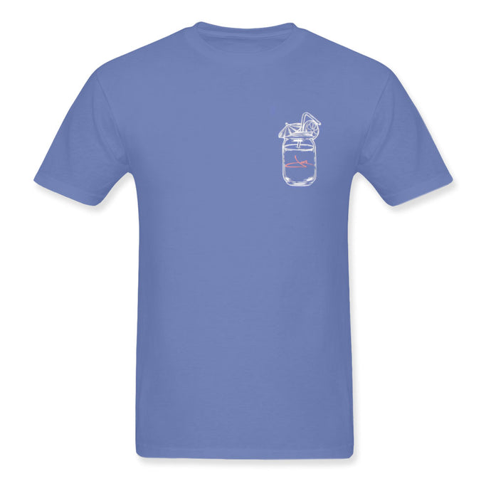 Drink All Day Blue Tee