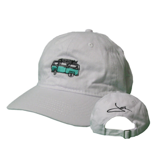 White VW Van Hat