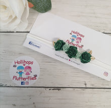 Green Rose Dainty Band