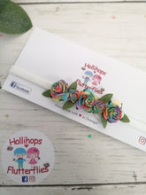 Rainbow Rose Dainty Band