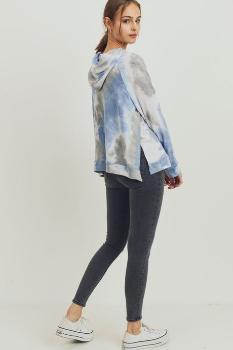 Tie Dye Terry Hoodie - Harp & Sole Boutique