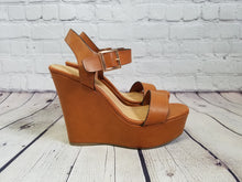 Load image into Gallery viewer, Ankle Strap Wedge - Harp & Sole Boutique