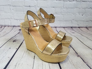 Ankle Strap Wedge - Harp & Sole Boutique