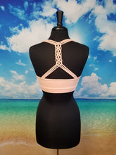 Load image into Gallery viewer, Braid Straps Racerback Sports Bra - Harp & Sole Boutique