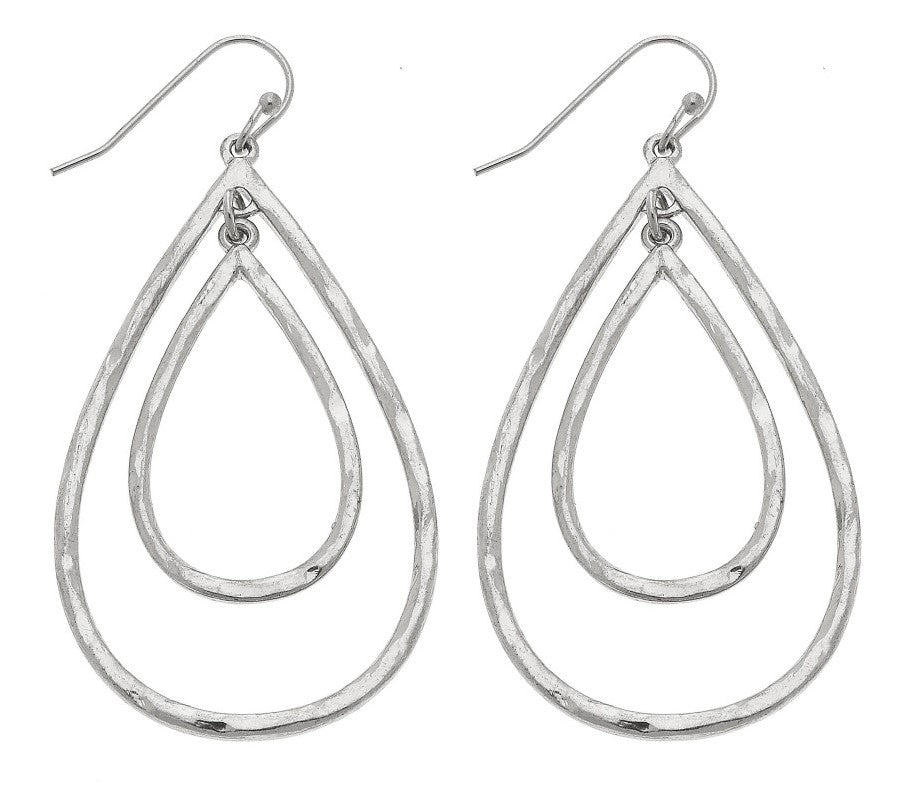 Nested Teardrop Earrings - Harp & Sole Boutique