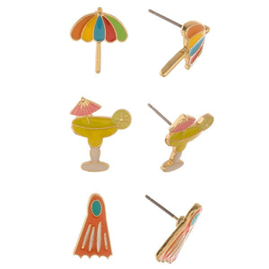 At The Beach Earring Set - Harp & Sole Boutique