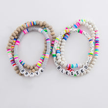 Load image into Gallery viewer, Fun Stretchy Bracelets with Bright Beads - Harp & Sole Boutique
