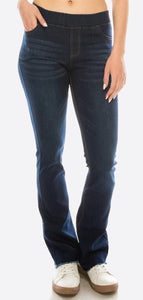 Denim Bootcut Jeggings - Harp & Sole Boutique