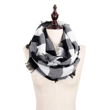 Load image into Gallery viewer, Buffalo Check Infinity Scarf - Harp & Sole Boutique