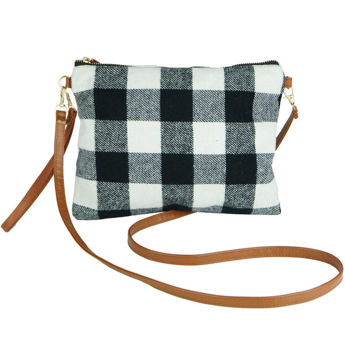 Buffalo Check Crossbody/ Clutch Bag