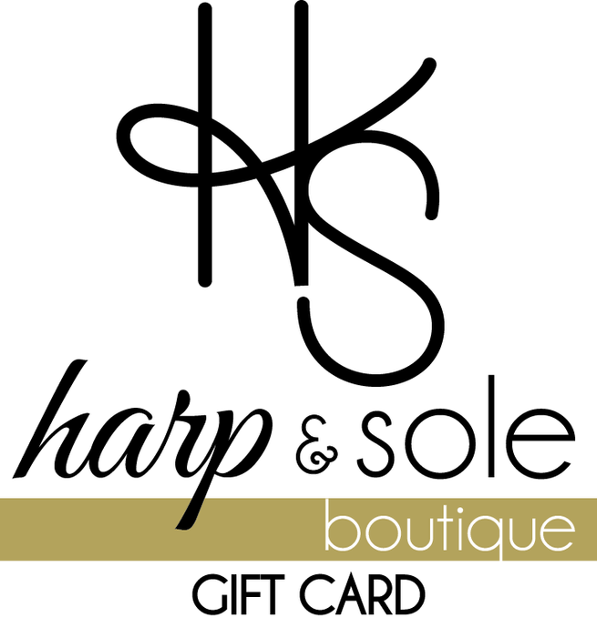 Gift Card - Harp & Sole Boutique