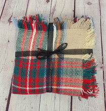 Load image into Gallery viewer, Plaid Blanket Shawls - Harp & Sole Boutique