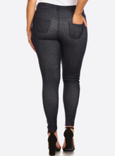 Load image into Gallery viewer, Dark Wash Midrise Jeggings - Harp & Sole Boutique