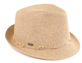 Fedora with String Accent - Harp & Sole Boutique