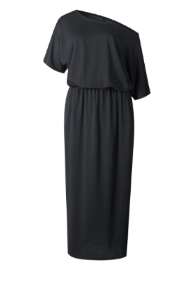 Off Shoulder Maxi Dress with Pockets - Harp & Sole Boutique