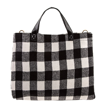 Buffalo Check Tote Bag