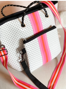 White Hamptons Crossbody