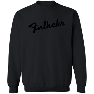 FNLHCKR Guitar Lover Crewneck Pullover Sweatshirt 8 oz.