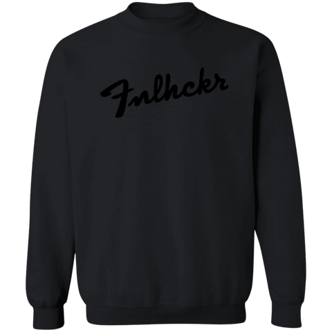 Image of FNLHCKR Guitar Lover Crewneck Pullover Sweatshirt 8 oz.