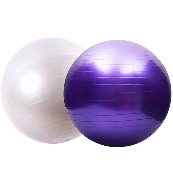 75cm 65cm 55cm Smooth fitness ball exercise balls purple yoga ball