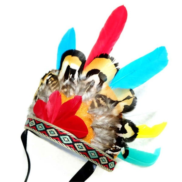 Pet Feather Headwear Creative Beautiful Headband Pet Headdress for Dog Cat Pet