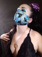 Red Dragon Scale Face Mask