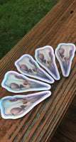 Holographic Raven Sticker