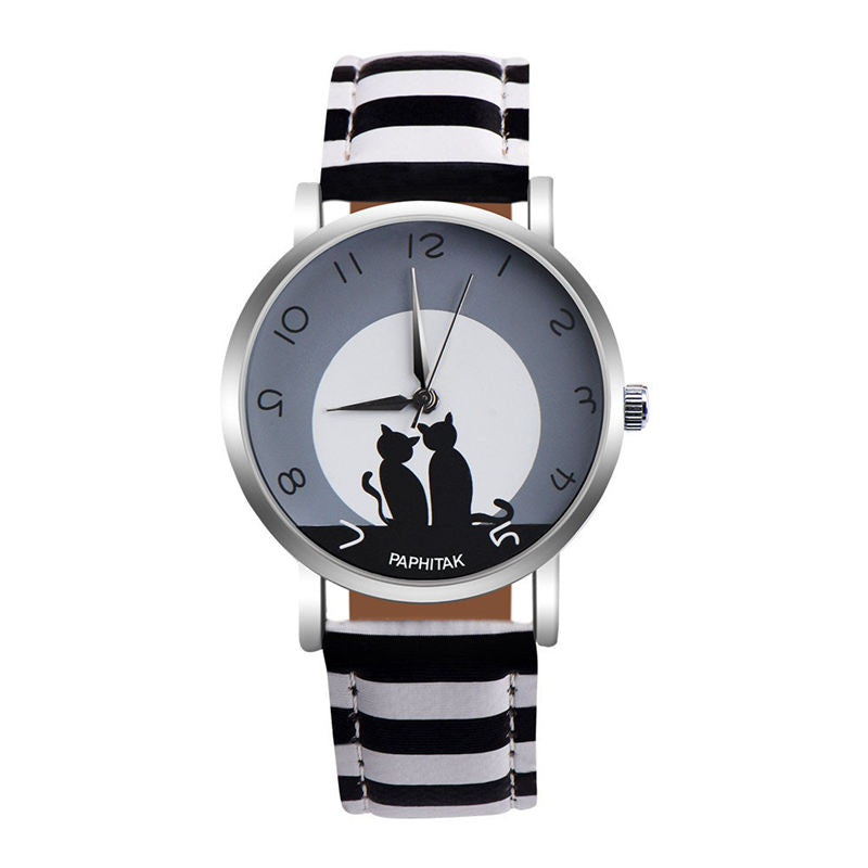 Fabulously Feline Wrist Watch